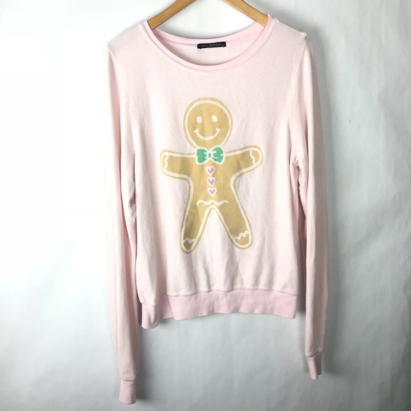 bd65a8d8dd Wildfox Tops | Baggy Beach Jumper Sweatshirt Pink Small | Poshmark
